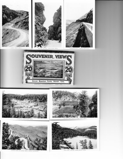 Sanford Souvenir B&W Photos c1930s  Mountain Parks