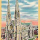 St Patrick's Cathedral 1950 Postcard