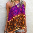 """OFF SHOULDER TOP - MULTI - """"Size 4/6"""" FREE SHIPPING OR PICK UP"""