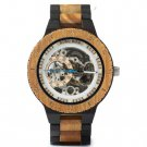 Automatic Mechanical Watches Male Luxury Wooden Green Sandalwood Men Watch