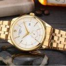White Watch Men Luxury Wristwatch Quartz Wrist Watch Calendar