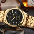 Black Watch Men Luxury Wristwatch Quartz Wrist Watch Calendar