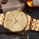 Gold Watch Men Watches Famous Wristwatch Quartz Wrist Watch Calendar