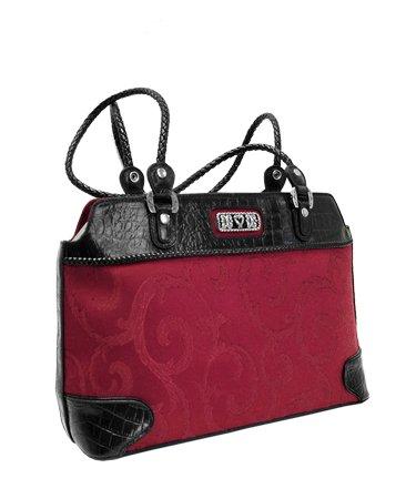 Genuine Leather Shoulder Bag- Brighton inspired
