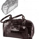 Brighton Inspired- Toulon Genuine Leather Handbag