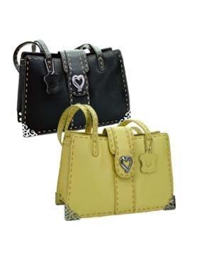 Brighton Inspired- Isabella Genuine Leather Handbag