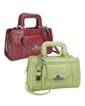 Brighton Inspired- Hawthorn Genuine Leather Handbag