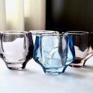 SKLO UNION, Set of 4 Frantisek Vizner Small Glass Vases, Hermanova Hut, Pattern 20053,