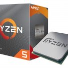 AMD RYZEN 5 3600 6-Core 3.6 GHz (4.2 GHz Max Boost) Socket AM4 Desktop Processor