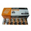 Maxell LR1130 1.5V Alkaline Cell Battery (200pcs) #7016