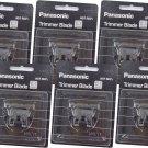 Panasonic WER-9602 Hair Trimmer Blade (Pack of 6) #16119