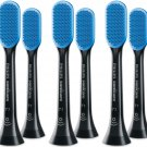 Philips Sonicare Tonguecare HX8072 Tongue Brushes (Pack of 10) - Black #15176