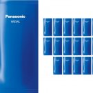 Panasonic WES4L03 Men Shaver Cleaning Detergent (Pack of 18) (for ES-RT74/LV94) #15946