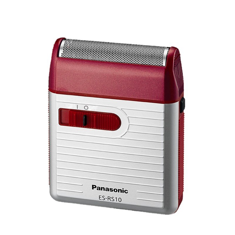 Panasonic ES-RS10 Battery Operated Shaver - Red #16145