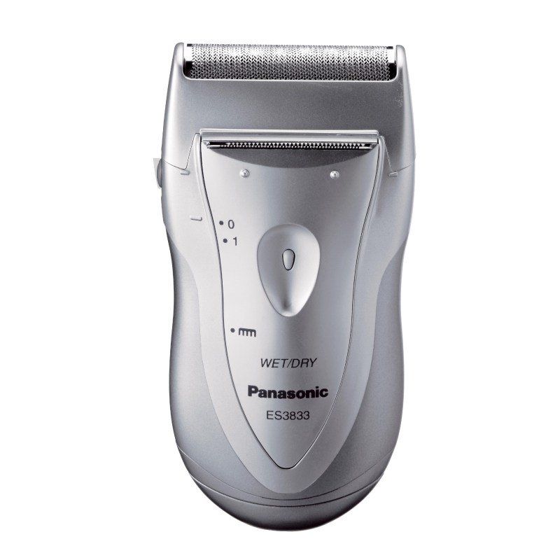 Panasonic ES-3833 Battery Operated Shaver - Silver #16149