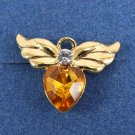 Tiny Angel Birth Stone Pin by Avon from the 2000s November