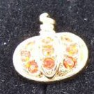 Precious Pumpkin Earrings by Avon from the 1990s