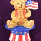 American Bear Pin by Avon from the 1990s Brooch