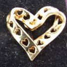 True Hearts Clip Earrings by Avon from the 1990s