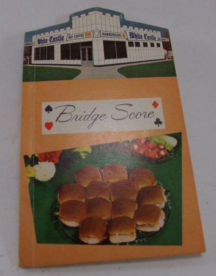 White Castle Bridge Score Book Collectible 1960 s