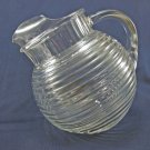 Small Vintage Glass Pitcher