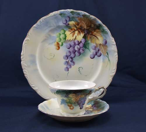 Lefton Cup and Saucer Festival Series with Plate SL2616