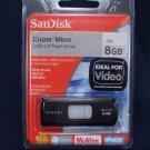 ScanDisk Cruzer Micro USB 2.0 Flash Drive with U3 NIB