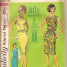 Simplicity 5963  Jiffy Jumper Dress  pattern