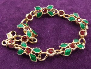 Holiday Sparkle Bracelet by Avon from the 1990s Christmas