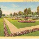 Suken Garden Fair Park Dallas Texas Postcard