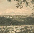 Ixtaccihuatl Sleeping Lady Postcard Mexico volcanic mountain