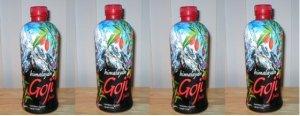 """Himalayan Goji Juice - Case of Four, """"1-liter"""" bottles"""