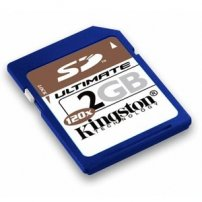 Kingston 2GB SD Secure Digital Memory Card Flash  (lib)