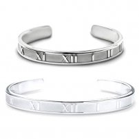 Sterling Silver Bangle Bracelet (lib)