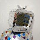 Mirror TV helmet for performance