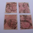 5 Shilling Victorian Postage Stamps