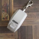 New Zippo Portable Ashtray Keychain, Policarbonate with Lid, Grey