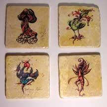 Set of Four Coasters