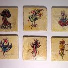 Set of Six Coasters