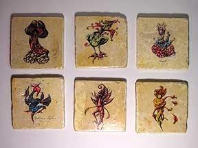 Set of Six Coasters