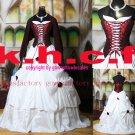 wine/white wedding/prom/bridesmaid