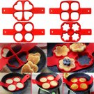 Silicone Mold Pancake Maker Nonstick Cooking Tool Eggs Molds Maker Egg Cooker