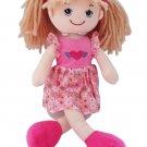 Tess the Rag Doll Baby Doll, brown hair doll