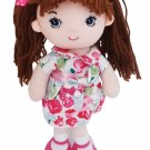 Hope the Rag Doll Baby Doll, Brown Hair Baby Doll