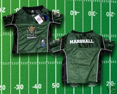 WE ARE MARSHALL Toddler Football Jersey 2T 3T 4T Randy MOSS