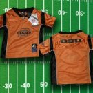 OKLAHOMA STATE TODDLER FOOTBALL JERSEY 2T 3T 4T KIDS