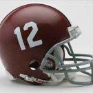 Alabama Crimson Tide Football RIDDELL Micro Helmet #12 mini helmet