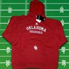 Oklahoma Sooners Football ADIDAS Hooded Sweatshirt Hoodie Hoody