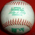 RARE MLB RAWLINGS Baseball MLB GAME Ball GREEN Print VERY RARE