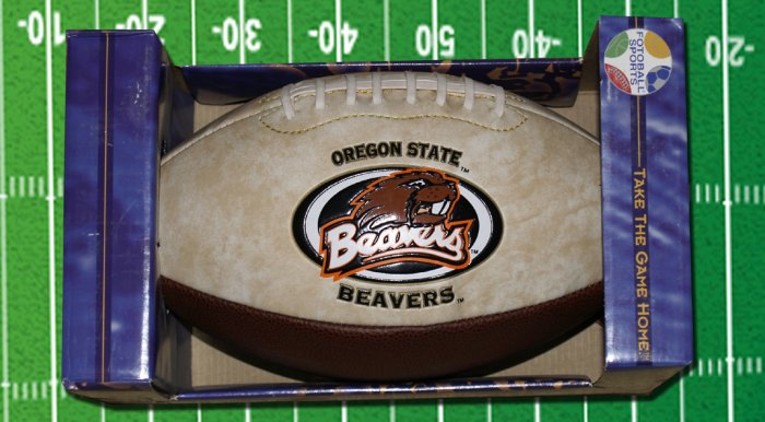 OREGON STATE BEAVERS FOOTBALL Jersey Full Size Football New In Box Moevao Jersey